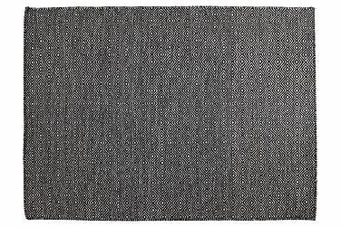Villamatto Orissa Käsinkudottu 135x190 Musta