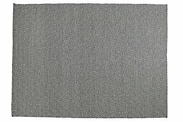 Villamatto Orissa käsinkudottu 135x190 Oliivinvihreä
