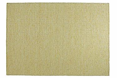 Villamatto Orissa Käsinkudottu 160x230 Keltainen