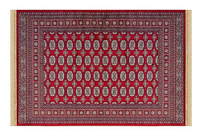 Viskoosimatto Buhara 140x200 cm punainen - Hestia - Sisustustuotteet - Matot - Viskoosi- & keinosilkkimatot