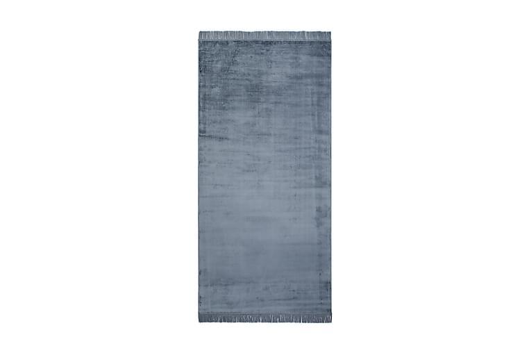 Viskoosimatto Granada 80x300 cm - Farkunsininen - Sisustustuotteet - Matot - Viskoosi- & keinosilkkimatot