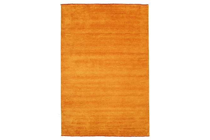 Suuri Matto Handloom 200x300 - Oranssi - Sisustustuotteet - Matot - Yksiväriset matot