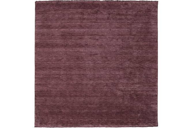 Suuri Matto Handloom 250x250 - Violetti - Sisustustuotteet - Matot - Yksiväriset matot