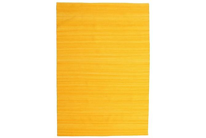 Suuri Matto Loom 160x230 - Keltainen - Sisustustuotteet - Matot - Yksiväriset matot