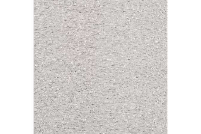 Matto 80x150 cm jäniksen tekonahka harmaa - Harmaa - Sisustustuotteet - Matot - Taljat ja nahkamatot
