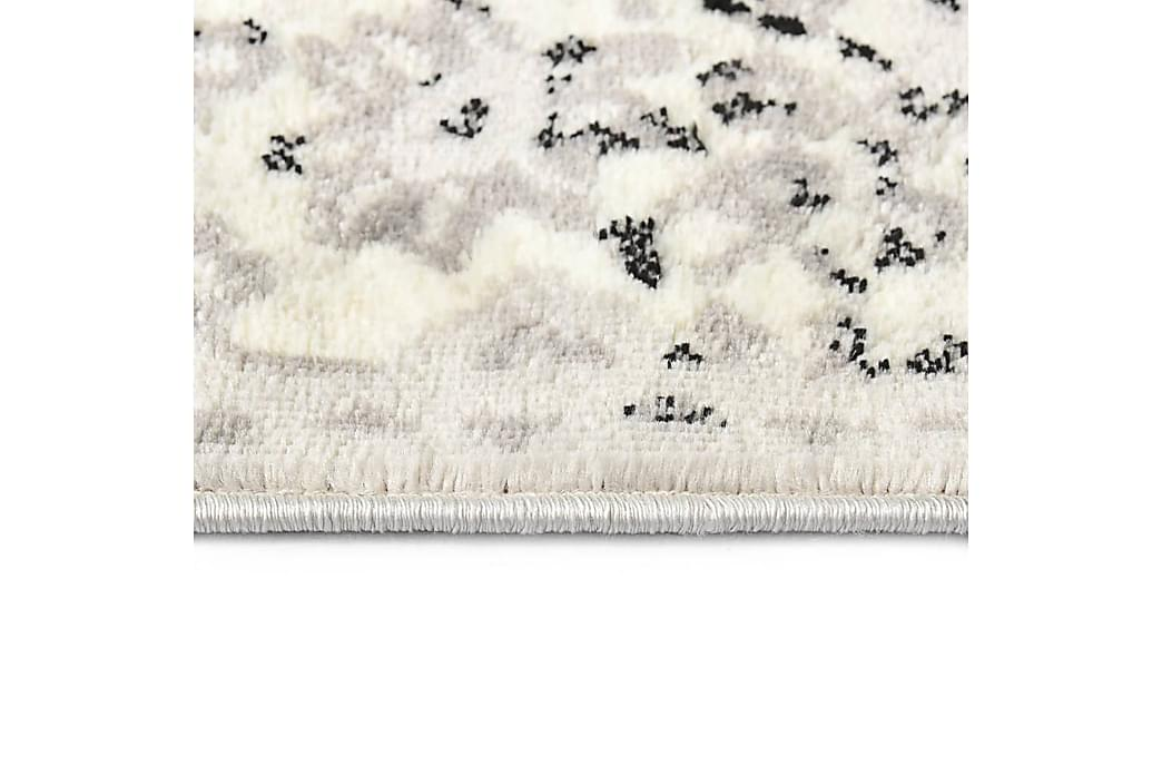 Matto harmaa ja musta 160x230 cm PP - Harmaa - Sisustustuotteet - Matot