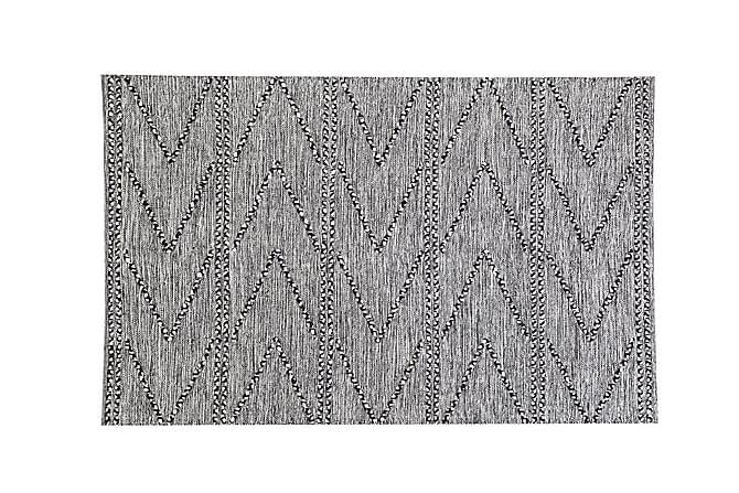 Matto Isbel 140x200 cm - Musta - Sisustustuotteet - Matot