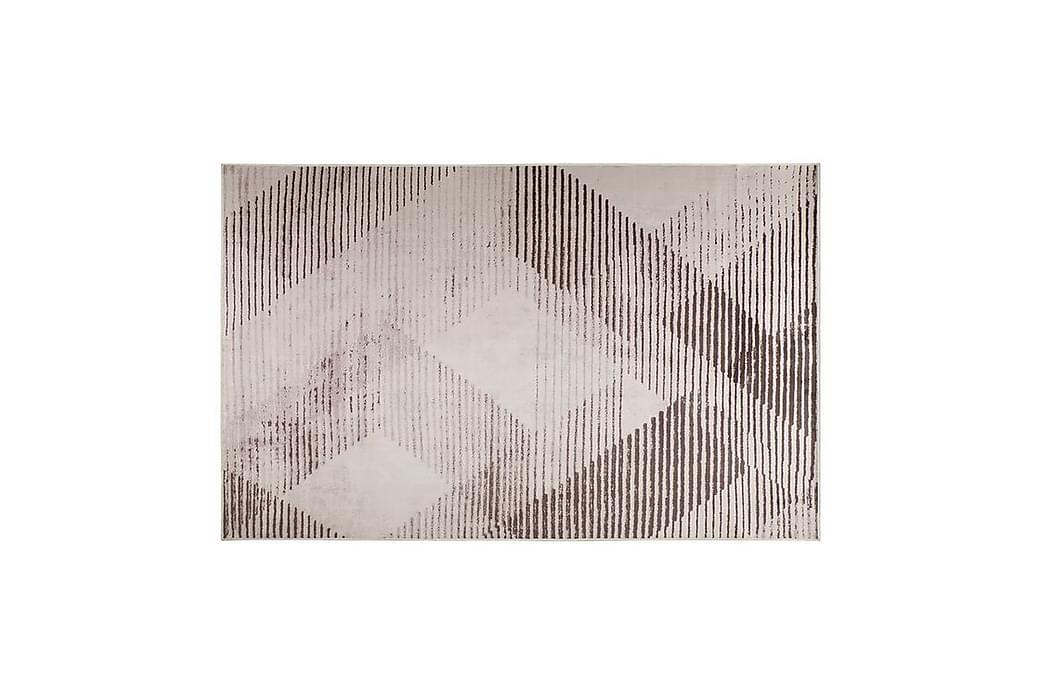 Matto Kihlani 140x200 cm - Musta - Sisustustuotteet - Matot
