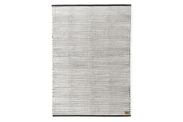 Matto Siperia, 140x200cm, valkoinen/harmaa
