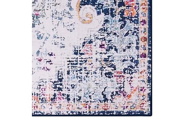 Painatettu matto monivärinen 140x200 cm kangas - Monivärinen - Sisustustuotteet - Matot