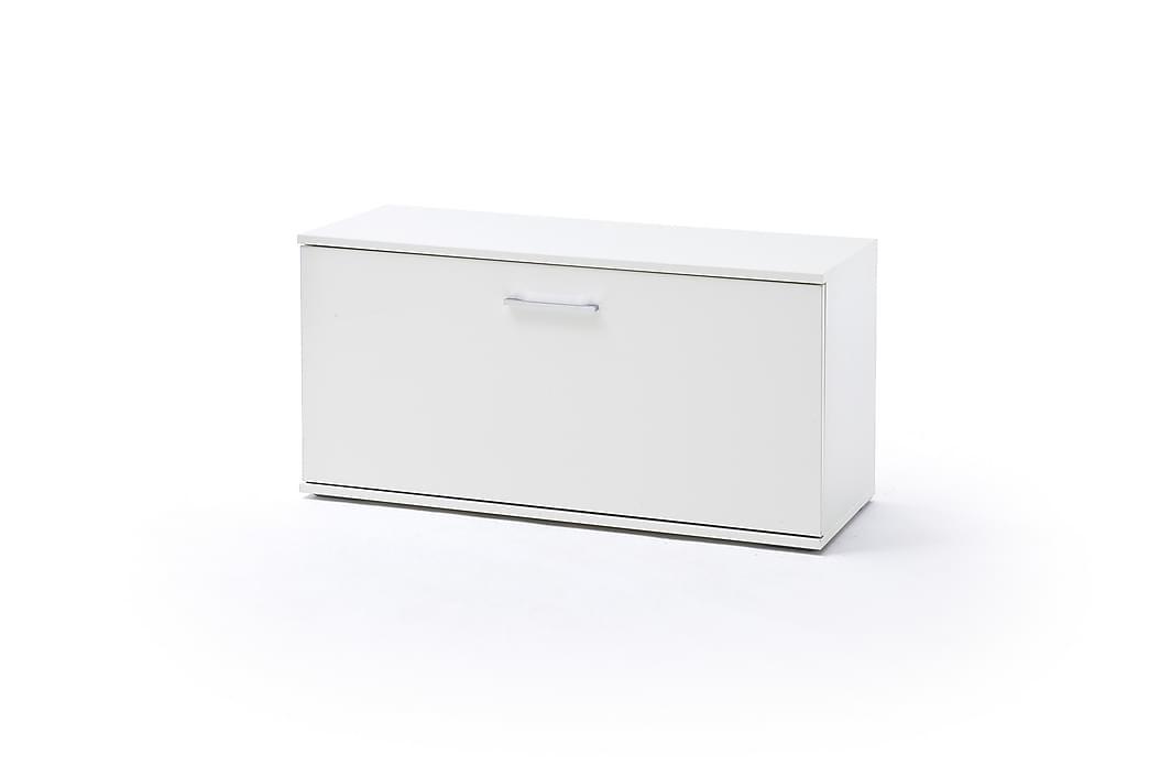 Säilytyspenkki Hazele 180 cm - Valkoinen - Sisustustuotteet - Pienet kalusteet - Penkit