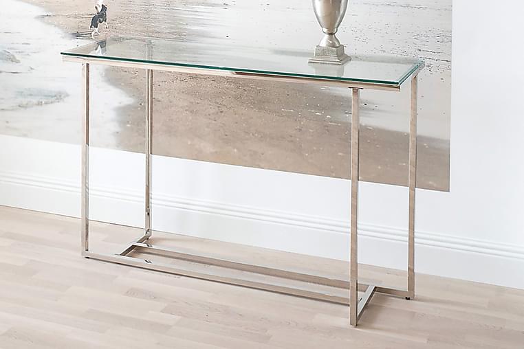Sivupöytä Classic 120x40x78 cm Kromi - AmandaB - Sisustustuotteet - Pienet kalusteet - Tarjotinpöydät & pienet pöydät
