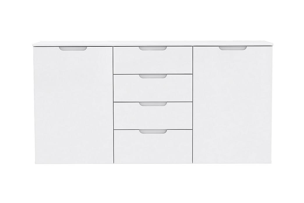 Sivupöytä Gullet 165 cm - Valkoinen - Sisustustuotteet - Pienet kalusteet - Tarjotinpöydät & pienet pöydät
