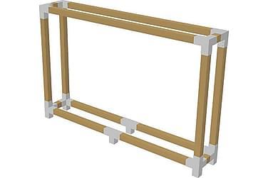Cubic Tilanjakaja Kehikko haloille - S: 50 cm K: 188 cm L: 2