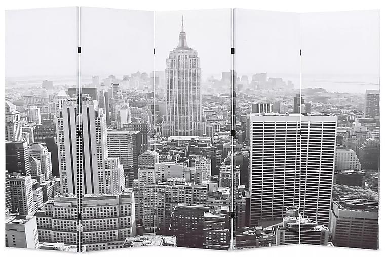 Taitettava tilanjakaja 200x170 cm New Yorkin päivämaisema - Monivärinen - Sisustustuotteet - Pienet kalusteet - Tilanjakajat & sermit