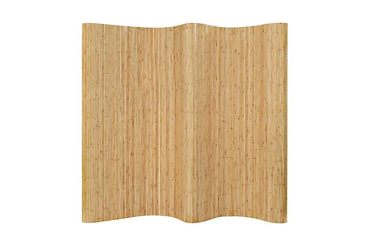 Tilanjakaja bambu 250x165 cm luonnollinen - Beige - Sisustustuotteet - Pienet kalusteet - Tilanjakajat & sermit