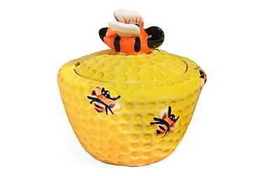 Ruukku Kosova kannella 14 cm Mehiläispesä Keramiikka