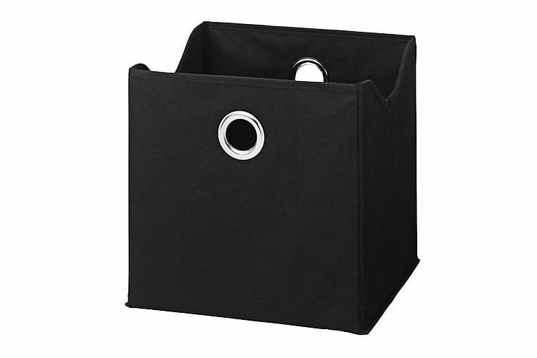 Kangaskori setti 9-pak Musta - Sisustustuotteet - Sisustuslaatikot & korit - Laatikot