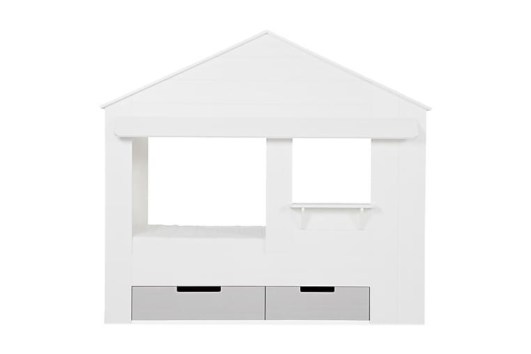 Sänkylaatikko Husahult 2-pak 23|66 cm - Valkoinen mänty - Sisustustuotteet - Sisustuslaatikot & korit - Laatikot