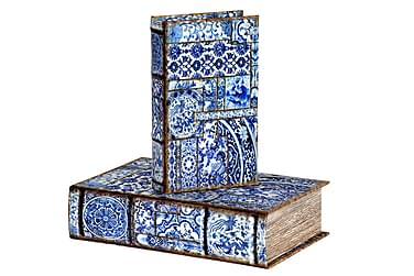 Kirjasäilytys Shemika 27 cm Koukkuodil 3:n setti