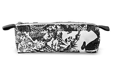 Meikkilaukku Seikkailumuumi M Musta/valkoinen