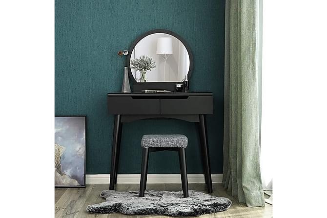 Meikkipöytä Traci 129 cm - Musta - Sisustustuotteet - Säilytyslaatikot & korit - Piensäilytys