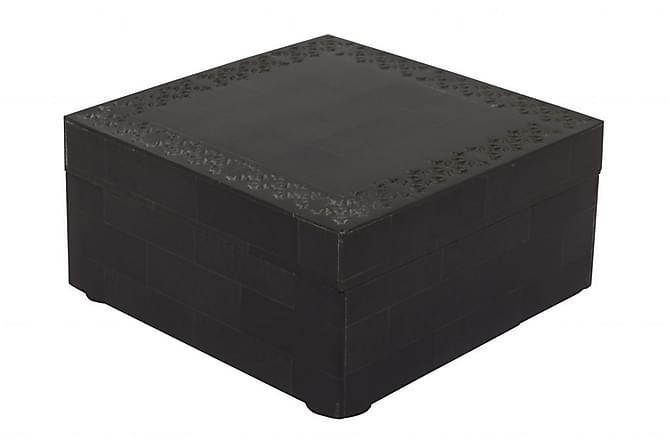 Rasia Shangri kannella Musta/Kivi - Turiform - Sisustustuotteet - Säilytyslaatikot & korit - Piensäilytys