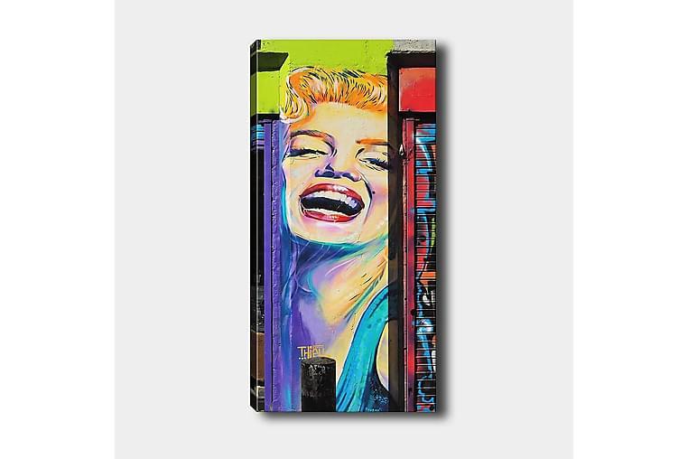 Canvastaulu DKY People Monivärinen - 50x120 cm - Sisustustuotteet - Seinäkoristeet - Canvas-taulut