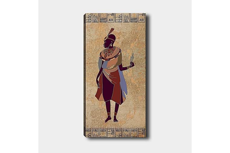 Canvastaulu DKY World Cultures Monivärinen - 50x120 cm - Sisustustuotteet - Seinäkoristeet - Canvas-taulut