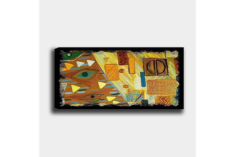 Canvastaulu YTY Abstract & Fractals Monivärinen - 120x50 cm - Sisustustuotteet - Seinäkoristeet - Canvas-taulut