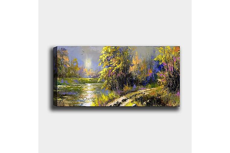 Canvastaulu YTY Landscape & Nature Monivärinen - 120x50 cm - Sisustustuotteet - Seinäkoristeet - Canvas-taulut