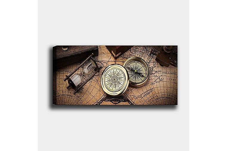 Canvastaulu YTY Nautical & Beach Monivärinen - 120x50 cm - Sisustustuotteet - Seinäkoristeet - Canvas-taulut