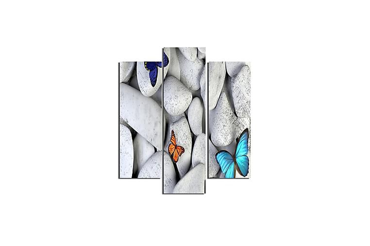 Homemania Perhoset Taulu - Homemania - Sisustustuotteet - Seinäkoristeet - Canvas-taulut