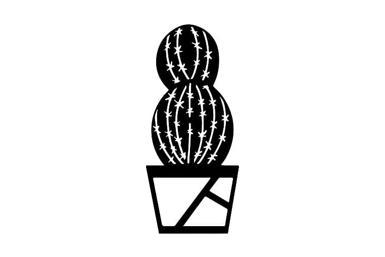 Kaktus Seinäkoriste - Homemania - Sisustustuotteet - Seinäkoristeet - Canvas-taulut