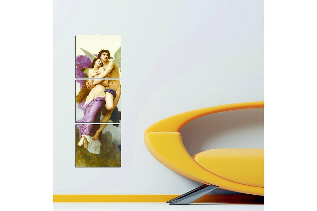 Koristeellinen MDF Maalaus (3 kpl) - Sisustustuotteet - Seinäkoristeet - Canvas-taulut