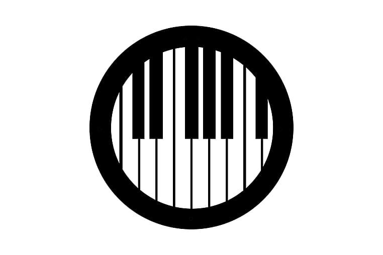Musiikki Seinäkoriste - Homemania - Sisustustuotteet - Seinäkoristeet - Canvas-taulut