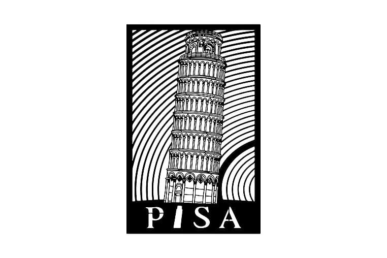 Pisa Seinäkoriste - Homemania - Sisustustuotteet - Seinäkoristeet - Canvas-taulut