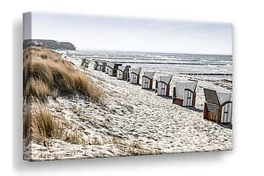 Taulu Beach Huts Canvas