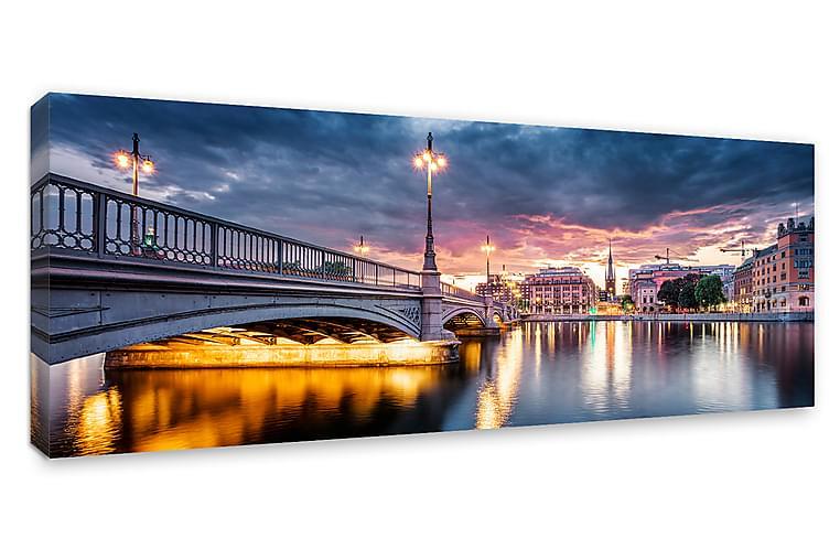 Taulu Canvas Vasabron, Stockholm - 60x150 cm - Sisustustuotteet - Seinäkoristeet - Canvas-taulut