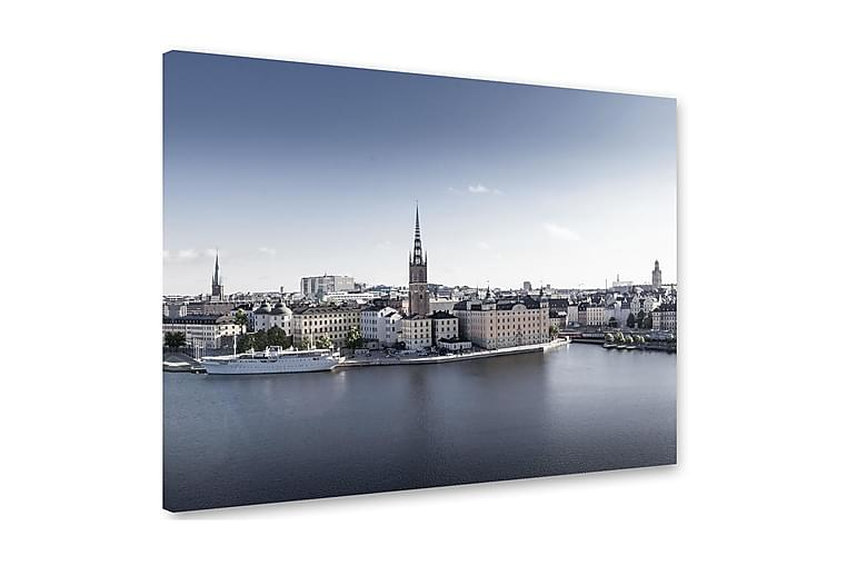 Taulu Stockholm 75x100 cm - Monivärinen - Sisustustuotteet - Seinäkoristeet - Canvas-taulut