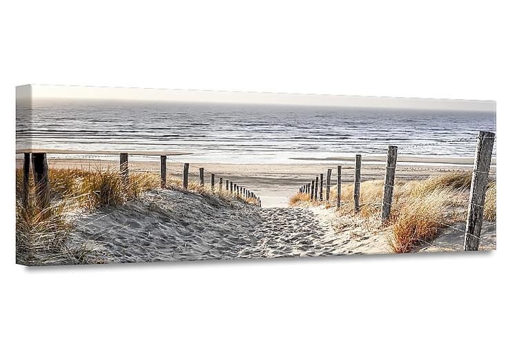 Taulu Warm Sand Canvas - 45x140 cm - Sisustustuotteet - Seinäkoristeet - Canvas-taulut