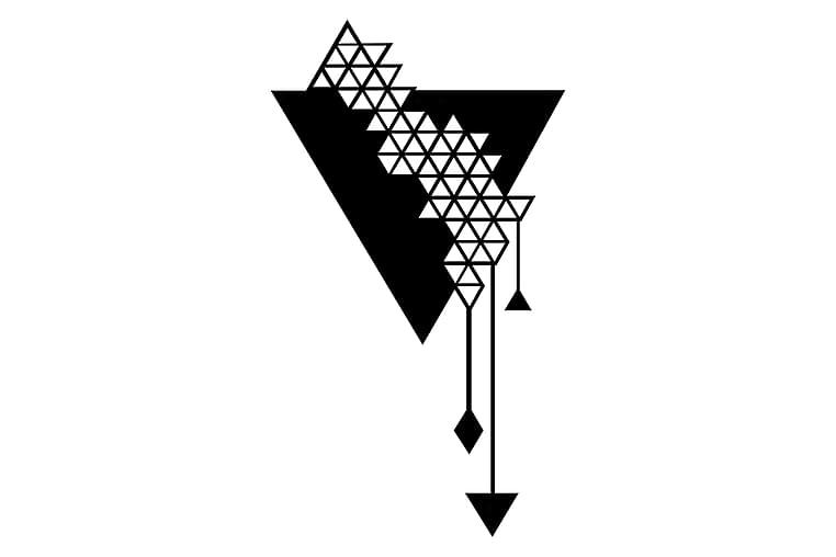 Triangel Seinäkoriste - Homemania - Sisustustuotteet - Seinäkoristeet - Canvas-taulut