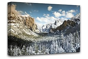 Yosemite Valley Taulu Canvas