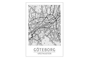 Göteborg Stadskarta Juliste