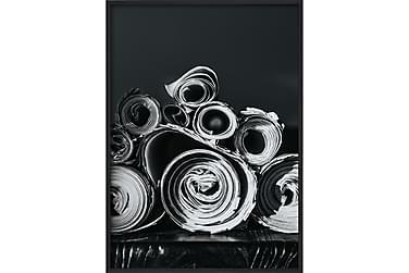 Juliste B&W Paper Rolls