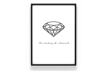 Juliste Diamant 50x70cm - 230g matta valokuvapaperi