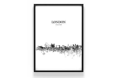 Juliste London 50x70cm - 230g matta valokuvapaperi
