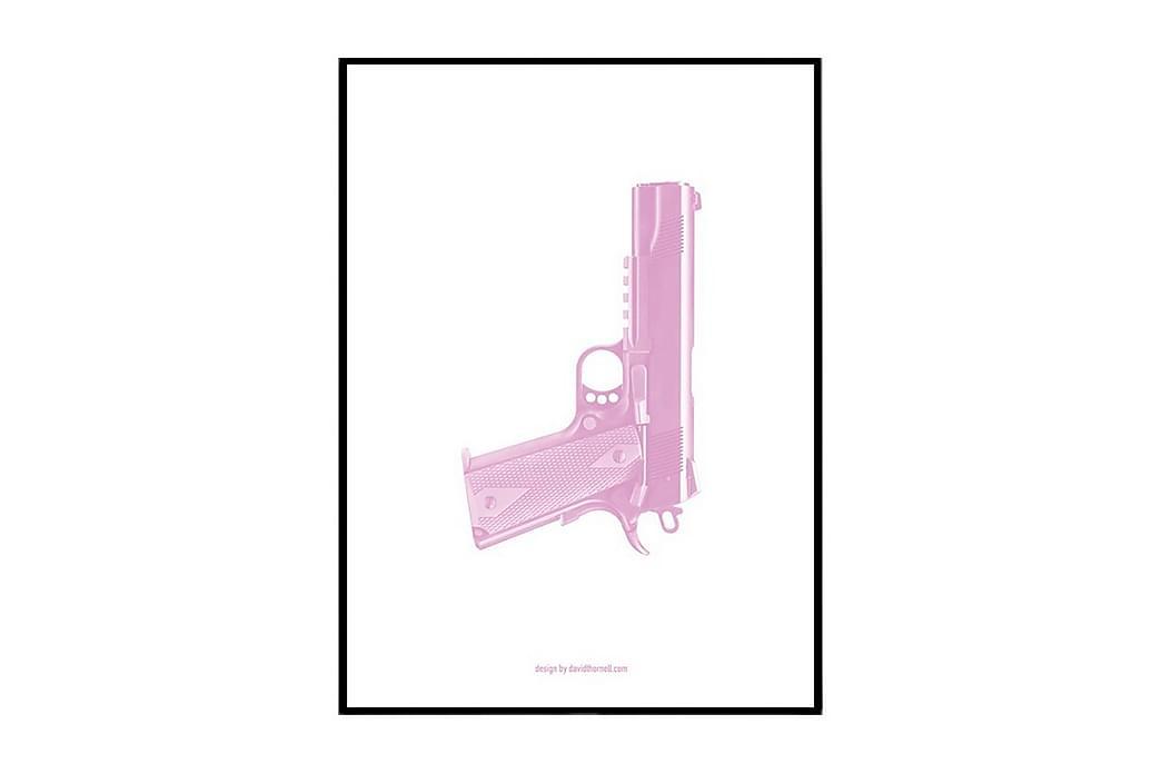 Juliste Pink world - Saatavilla useita kokoja - Sisustustuotteet - Seinäkoristeet - Julisteet
