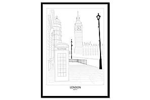 Julistetaulu Street View London