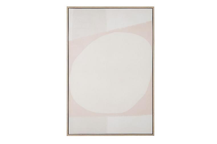 Taulu Baone Beige / Vaaleanpunainen - 66x39 cm - Sisustustuotteet - Seinäkoristeet - Julisteet